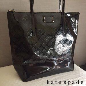 Kate Spade Beale Street Pammy Large Tote Bag Black
